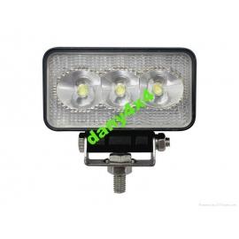 Lampa robocza 4x4 halogen 3 LED off road